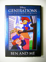 Disney Generations Collection Ben And Me Rare Dvd Benjamin Franklin Cartoon