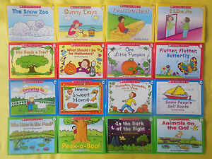 Lot-16-Little-Leveled-Readers-Preschool-Kindergarten-First-Grade-Childrens-Books