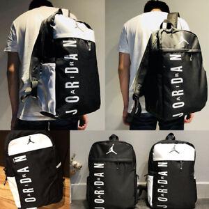 538332fe734b Men Women Package Jordan Travel Bag Girls Boys Schoolbag Canvas ...