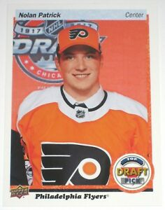 2017-18-UPPER-DECK-RETRO-DRAFT-DAY-TOP-DRAFT-PICK-NOLAN-PATRICK-ROOKIE-CARD