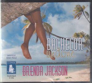 Brenda-Jackson-Bachelor-Undone-5CD-Audio-Book-Unabridged-Romance-FASTPOST