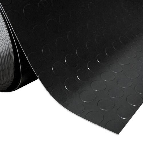 Carpet Rubber Non-Slip Black Runner Coating Floor Bubbles Side Step PVC