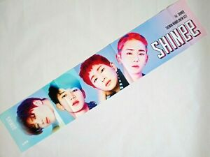 Details about SHINEE KPOP Photo Cheer Slogan Towel MinHo TaeMin Onew  JongHyun Key Korean Goods