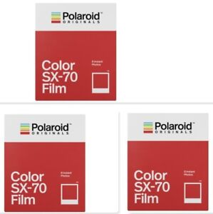 3-x-POLAROID-COLOR-SX-70-SOFORTBILDFILM-NEUHEIT-von-Impossible-PX-70-SX70