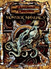 Dungeons and Dragons: Monster Manual V by Wizards Team (2007, Hardcover)