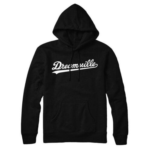 DREAMVILLE Hoodie Hip Hop pullover UNISEX Black White Maroon *Best Quality*