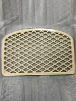 Quadra-fire Topaz Gas Stove Grill Rear Vent Porcelain Cream - Part 844-9840