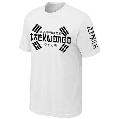 T-Shirt Manches Longues Taekwondo Martial-Art Sport Combat COREE du SUD