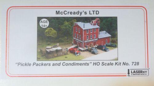 American Model Builders kit Inc HO #728 McCready/'s LTD LaserKit