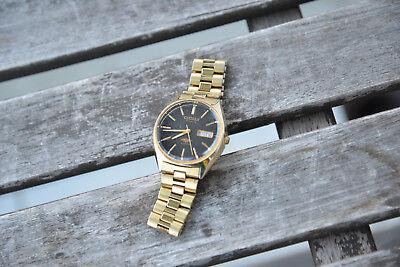 Citizen Armbanduhr Automatic P-8200 Seven 7 21 Jewels In Gold (vergoldet) Datum