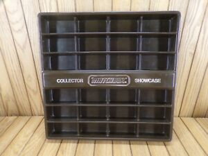 VTG-1978-MATCHBOX-COLLECTORS-SHOWCASE-HOLDS-24-CARS-EASEL-OR-WALL-DISPLAY