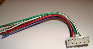s l300 pioneer stereo am fm cd 12 pin wire harness deh 245 435 42 48 52  at mifinder.co