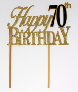 All About Details X001SMICAF Happy 70th Birthday Cake ...