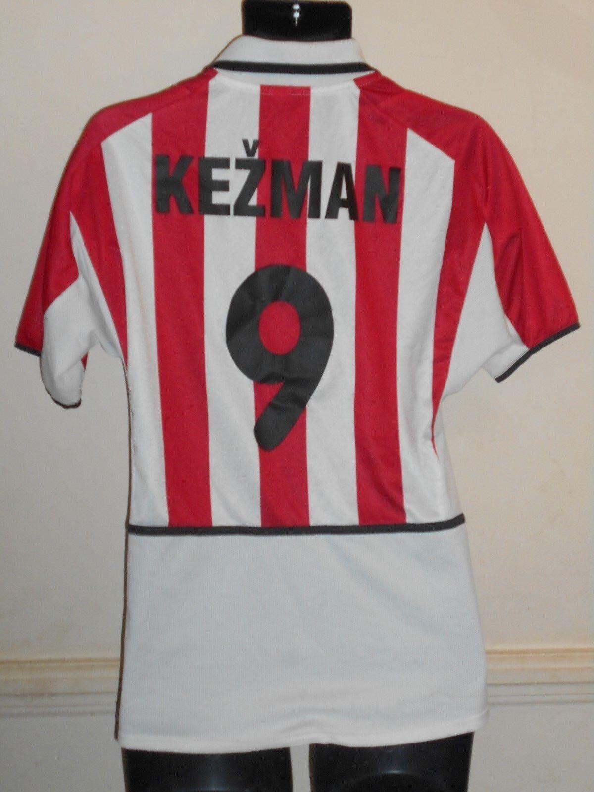 PSV Eindhoven Holanda Home  Camisa 2002-2003 Kezman 9 pequeños para hombres  1013  Felices compras