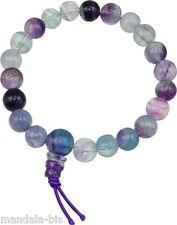 Bracelet Mala Tibétain - Fluorite