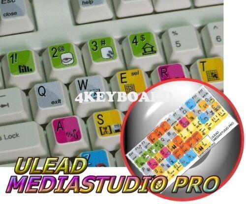 Ulead MediaStudio Pro keyboard stickers