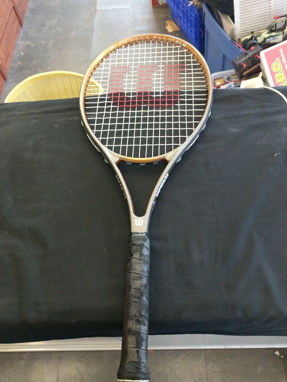 Wilson Grafito  XLB Stretch tenis raqueta Peeling Mango  100% autentico