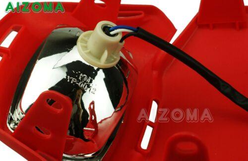 Off Road Enduro MX Motorcycle Headlight Headlight Fairing Red For Honda CRF XR