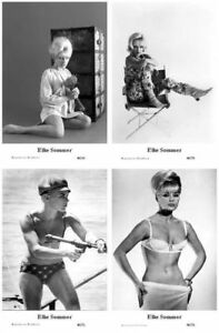 ELKE SOMMER - Film star Pin Up PHOTO POSTCARD - Publisher Swiftsure Postcard - España - ELKE SOMMER - Film star Pin Up PHOTO POSTCARD - Publisher Swiftsure Postcard - España