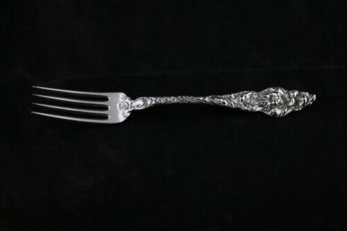 "NO MONO Reed /& Barton Les Six Fleurs Sterling Silver Dinner Fork 7-7//8/"""