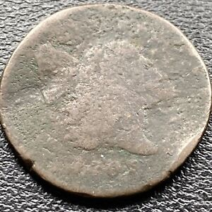 1795 Liberty Cap Half Cent 1/2 Flowing Hair RARE Lettered Edge #22547