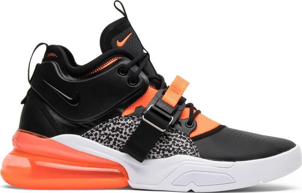 Nike Men's AIR FORCE 270 Shoes Black/Crimson/Grey AH6772-004 c