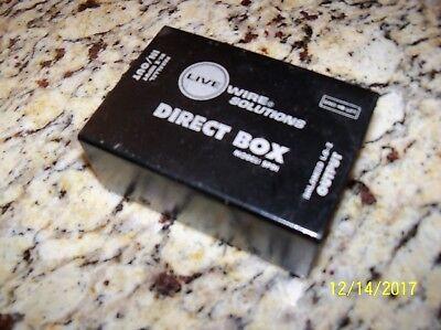 live wire solutions direct box model spdi passive switchable exc condition ebay. Black Bedroom Furniture Sets. Home Design Ideas