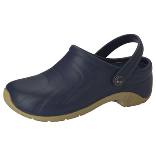 CLOGS Navy ZONE Anywear Injected Clog w//Backstrap
