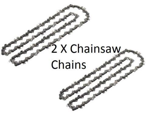 """45cm 2 x chaîne de scie à chaîne pour McCulloch promac33 474 484 735 C180 California 18 /"""""""