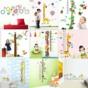 DIY-Removable-Decal-Vinyl-Art-Wall-Stickers-Kids-Child-Baby-Height-Chart-Measure