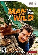 Man vs. Wild With Bear Grylls WII! SURVIVAL, HUNT, HUNTER, SURVIVE DISCOVERY