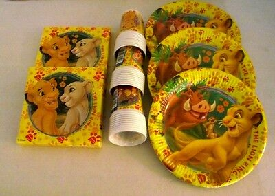 The Lion King Party Pack for 30 Children - Lion Guard Children's Party Tableware