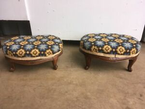 Pair-of-Edwardian-Oak-Footstools