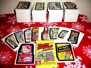 2005-WACKY-PACKAGES-ALL-NEW-SERIES-2-ANS2-LOT-OF-30-DIFFERENT-STICKER-CARDS