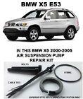 BMW X5 E53, 5 Series E39, Wabco Air Suspension Compressor Pump Seal Repair Kit