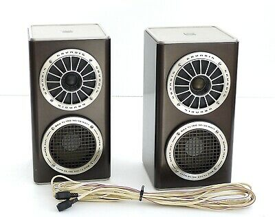 2x Grundig Tl 100 Super Hifi Box 2 Wege Speaker Two Way Speaker Cable Ebay