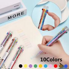 Metal Pens Black Ink Roller Ball Pens Fine Writing Pen Ballpoint New L8V0