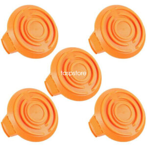 5PC WORX WA6531 GT Spool Cap Cover 50006531 for WORX Cordless Grass Trimmer