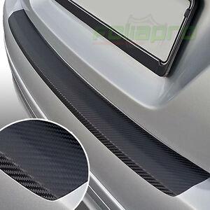Ladekantenschutz für VW POLO 6R 5Tuerer Schutzfolie Carbon Schwarz 3D 160µm