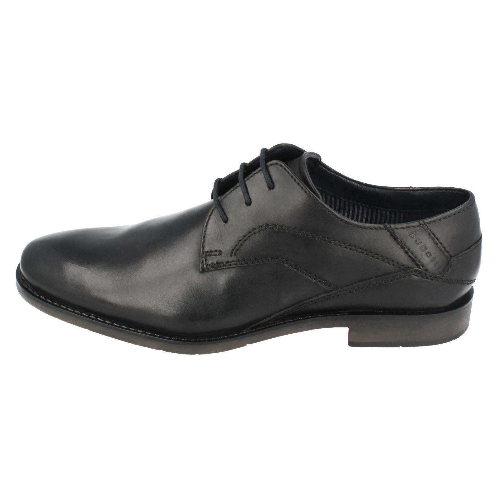 MENS CLASSIC SMART FORMAL LACE LACE LACE UP OFFICE LEATHER schuhe BUGATTI 313-23003-1000 d03593
