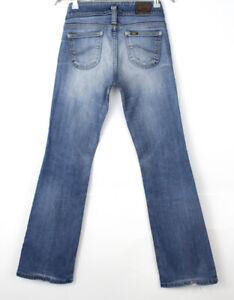 Vintage LEE Women Flared Jeans Size W28 L32