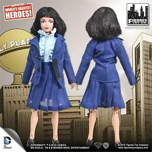 SUPERMAN SERIES 2; LOIS LANE 8 INCH ACTION FIGURE NEW IN POLYBAG
