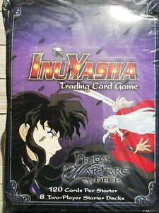 InuYasha Feudal Warfare Starter Deck Box NOS Score Trading Card Game TCG