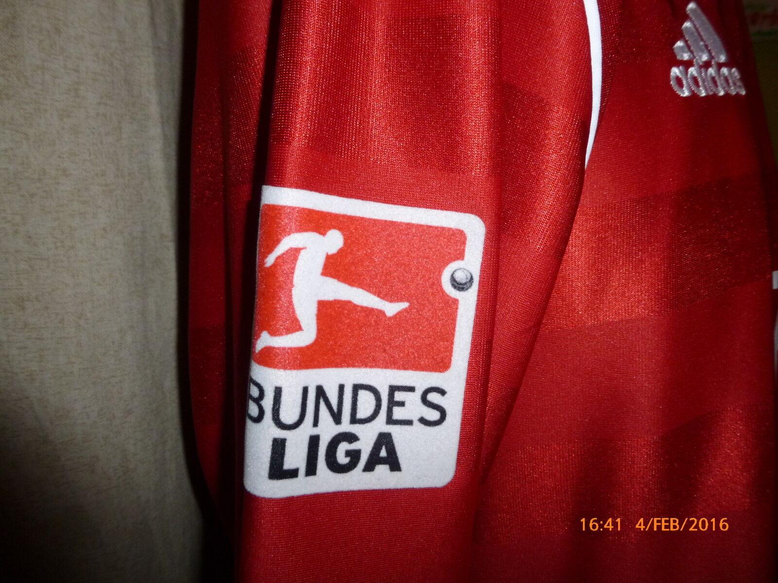 FC Ingolstadt Adidas Langarm Matchworn Trikot 2013 14    Audi  + Nr.11 Quaner Gr.L  | eine große Vielfalt  65051f