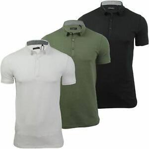 Mens-Polo-Shirt-by-Brave-Soul-Short-Sleeved