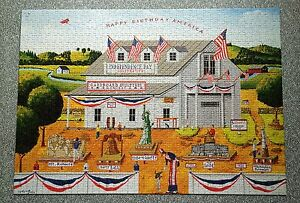 Puzzle Life Ciudad Natal Lago 1000 Piece Jigsaw Puzzle Thomas Kinkade