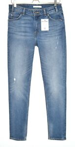 Damen-Levis-721-Vintage-High-Rise-Skinny-Blue-Stretch-Jeans-Gr-12-w29-l30