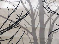 Prestigious Willow Tree fabric remnant