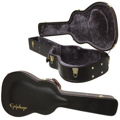 new epiphone hummingbird dreadnought acoustic electric guitar hard shell case ebay. Black Bedroom Furniture Sets. Home Design Ideas