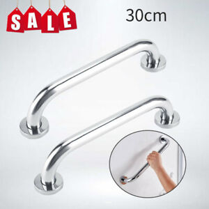 2X-Stainless-Steel-Grab-Bar-Bathroom-Safety-Handicap-Shower-Tub-Handle-Support